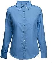 Comprar Traje de neopreno para mujer Premium Oxford de manga larga para vestir patrones de costura para camisas de distintos tamaños 8 permiten el paso de la 24 - trabajo y CASUAL