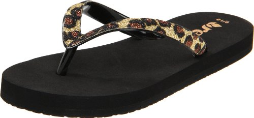 Reef Stargazer Luxe Flip Flop ,Leopard,2/3 M US Little Kid