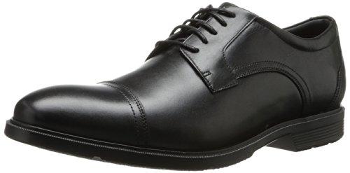 Rockport Men'S City Smart Cap Toe Oxford,Black,9.5 M Us