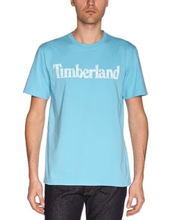 Timberland - T-Shirt - Homme - Bleu (Norse Blue) - S