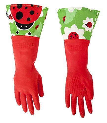Vigar 3381 guanti da cucina con disegno di coccinella mukkamu shop - Guanti da cucina ...