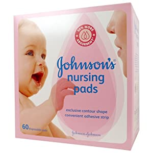 Johnson's Nursing Pads, 60-Count Boxes (Pack of 3)