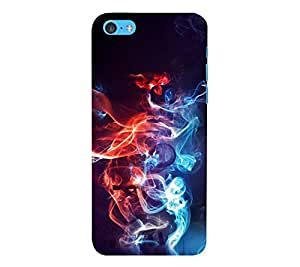 Perfect print back cover for Apple Iphone 5C