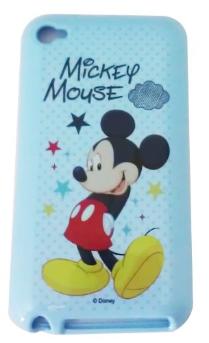 Bukit Cell Disney ® Mickey Mouse Flexible Tpu Skin Protector Case Cover For Apple Ipod Touch 4Th Generation (Itouch 4 4G) 8Gb 16Gb 32Gb + Free Wirelessgeeks247 Metallic Detachable Touch Screen Stylus Pen With Anti Dust Plug + Free Oem Stereo Headset With