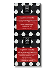 APIVITA Express Beauty with Pomegranate Masks 2 x 8ml