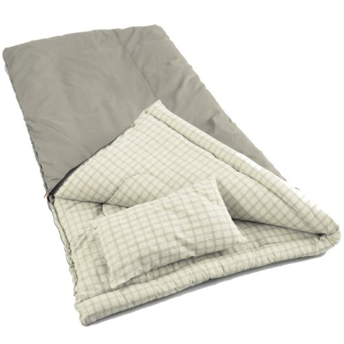 Coleman Big Game Rectangular Sleeping Bag - Green