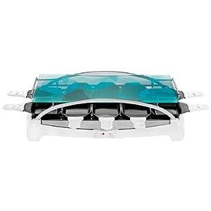 tefal re457116 appareil raclette ambiance blanc 10 coupelles cuisine maison. Black Bedroom Furniture Sets. Home Design Ideas