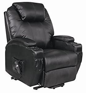 Cavendish electric rise and recliner chair with drink holders - choice of colours