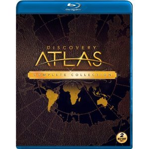 Discovery Atlas : Complete Series : South Africa , Russia , India , France , Australia , Japan , Brazil , Mexico , China , Egypt , Italy : Blu-ray 2 Disc Box Set : Almost 8 Hours