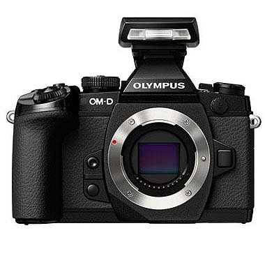 Olympus OM-D E-M1 Compact System Camera with 16MP and 3-Inch LCD (Body O