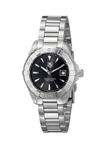 tag-heuer-womens-aquaracer-27mm-steel-bracelet-case-quartz-black-dial-analog-watch-way1410ba0920