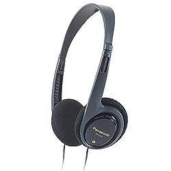 Panasonic RP-HT010GU-H Headphone with Deep Bass for Ipod/MP3 player (Grey)
