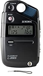 Sekonic 308-S Flashmate Light Meter Digital (Black) + extra Lanyward TRR®