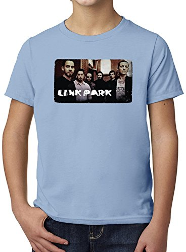 Linkin Park Ultimate Youth Fashion T-Shirt by True Fans Apparel - 100% Organic, Hypoallergenic Cotton- Casual Wear- Unisex Design - Soft Material 7-8 years