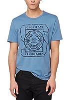s.Oliver Herren T-Shirt Single Jersey, mit Print