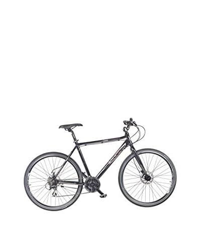Coppi Bicicleta Hibrida Aluminio Montebianco Negro