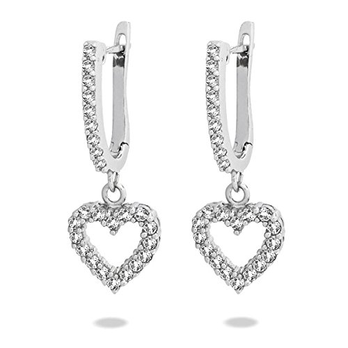 Rafaela Donata Classic Collection Ohrstecker Sterling Silber 925 Zirkonia weiß 60837074