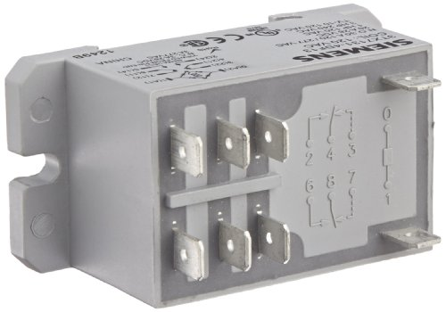 Basic Plug In Enclosed Power Relay, Dpdt Contacts, 30A No/3A Nc Contact Rating, 120Vac Coil Voltage