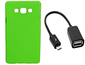 Toppings Hard Case Cover With OTG Cable For Samsung Galaxy S3 Neo - Green