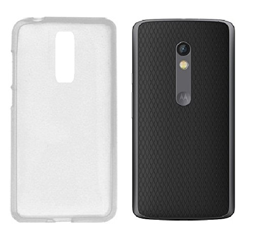 new style 1b1e9 97045 Premium Back Cover for Motorola MOTO X Play - Transparent