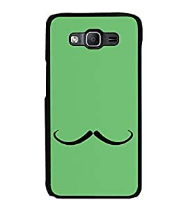 Printvisa Ultra Moustache 2D Hard Polycarbonate Designer Back Case Cover for Samsung Galaxy O...