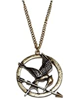 "Collier Vintage ""Hunger Game Ridicule Bird "" Bronze"