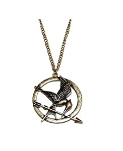 "Collier Vintage ""Hunger Game Ridicule Bird "" Bronze"