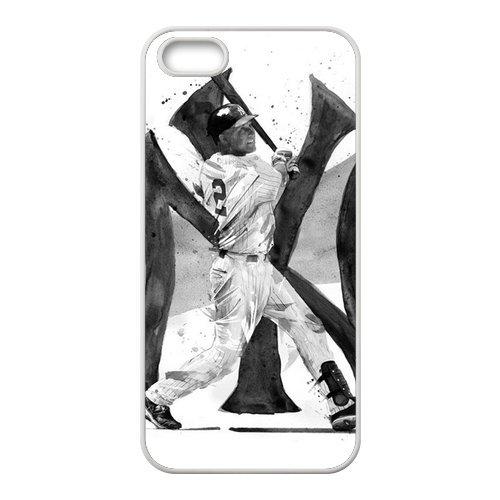 Diy Case For Iphone 5,5S ,Derek Jeter Customized Case Fashion Style Un012747 front-583770