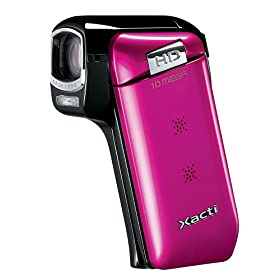 Sanyo VPC-CG10 HD Flash Memory Camcorder w/5x Optical Zoom (Pink)