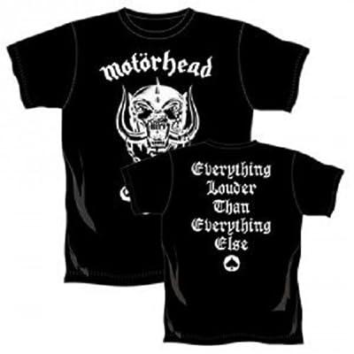 Motörhead T-Shirt England Skull Logo in Größe M (medium)