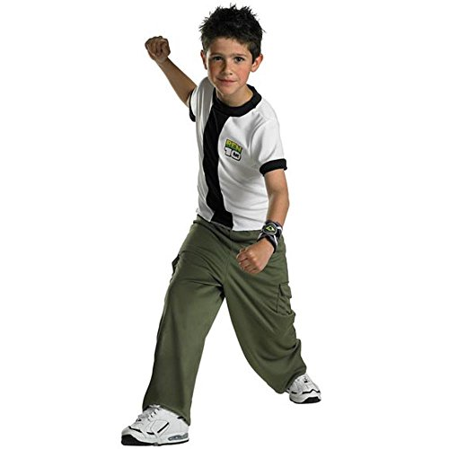 Child's Ben 10 Halloween Costume (Size: Small 4-6)