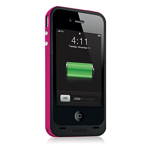 Juice Pack Plus Case and Rechargable Battery for iPhone 4/4S - Magenta Black Friday & Cyber Monday 2014