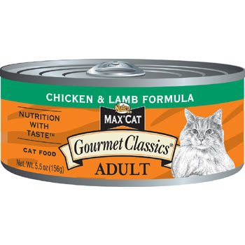 Nutro Max Cat Chicken & Lamb Canned Cat Food each