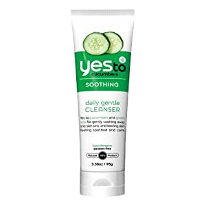 Yes To Cucumbers Daily Gentle Cleanser 100ml