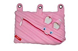 ZIPIT Animals 3-Ring Pencil Case, Bunny