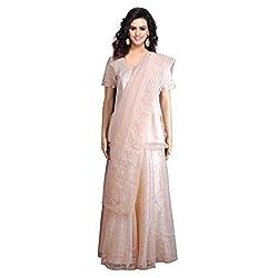 Aagaman Fashions Net & Satin Lehenga Cholis (YTS13171_Beige)