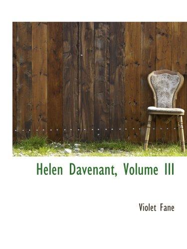 Helen Davenant, Volume III