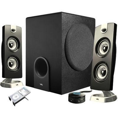 Cyber Acoustics Platinum Ca-3602 2.1 Speaker System - 30 W Rms / Ca-3602 /