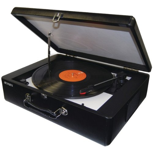 Brand New Jensen Portable Turntable With Built-In Speakers