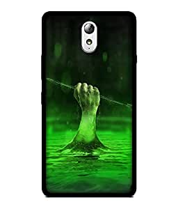 Chnno 2d flash Printed Back Cover For Lenovo Vibe P1M No- 1861