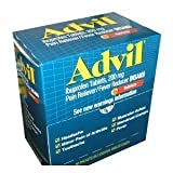 Advil Tablets Pain Reliever Refill 100 Tablets in Two-Packs/Box