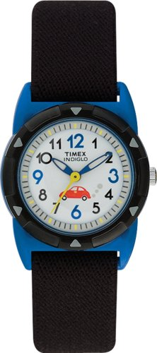 Timex Children's Indiglo Cars Stretch Band Watch #T7B401