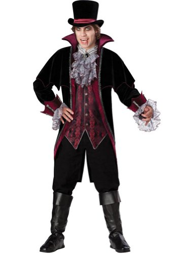 Vampire Of Versailles Lg Adult Mens Costume
