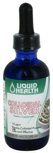 Liquid Health - Colloidal Silver Drops 10 Ppm - 2.03 oz.