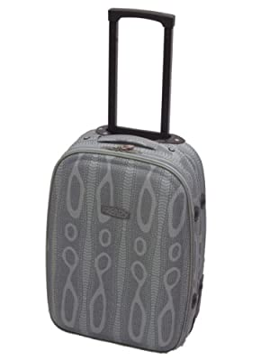 Grey Snake Print Carry-On Hand Luggage Case 19""