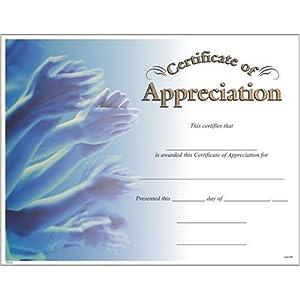 amazoncom award certificates 10 pack appreciation