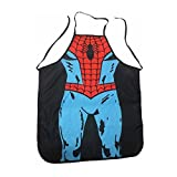 Aisa Marvel Spider-man Kitchen Apron Creative Design Be The Hero Cooking Apron Interesting Personality BBQ Aprons by Aisa [並行輸入品]