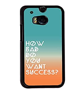 printtech Cool Quotes Success Back Case Cover for Huawei Honor 7