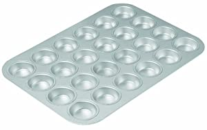 Chicago Metallic Commercial II Traditional Uncoated 24-cup Mini Muffin Pan by CHICAGO METALLIC