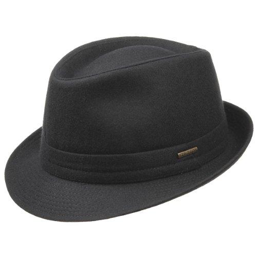 benavides-cappello-trilby-stetson-cappello-trilby-cappello-tendenza-58-cm-nero